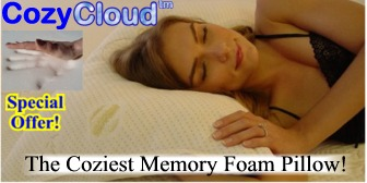 Cozy Cloud Memory Foam Pillow