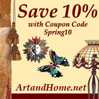 Save 10% at Art & Home with Coupon Code Spring10