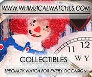 Whimsical Collectible Watches