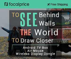 To See The World,To See Behind Walls,To See Draw Closer,EXP:Nov.19,freeshipping@focalprice.com
