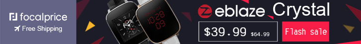 Flash Sale:Zeblaze Crystal Smart Watch,EXP:Nov.24,freeshipping@focalprice.com