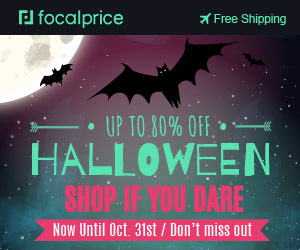 Up to 80% OFF Holloween Sale,EXP:Oct.31,freeshipping@focalprice.com