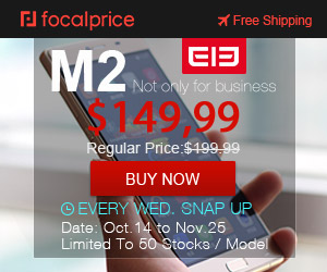 29% OFF ELEPHONE SECKILL,Now:$149.99,original price:$212.09,EXP:Nov.15,freeshipping@focalprice.com