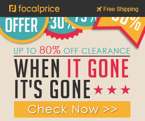 Up to 80% OFF Clearance When It Gone,freeshipping@focalprice.com