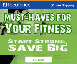 Up to 52% OFF must-haves for your fitness,expire :Feb.23,free shipping @ Focalprice.com