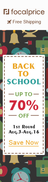 Up to 70% OFF Back To School,EXP:Aug.16,freeshipping@focalprice.com