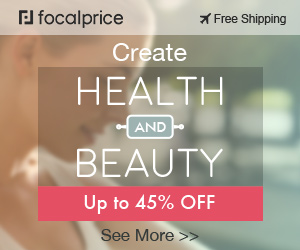 Up to 45% OFF Create Health and Beauty,EXP:Jul.22,freeshipping@focalprice.com