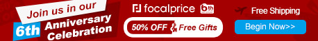 50% OFF 6th Anniversary Celebration,Expires:Jun.16,Free shipping@focalprice.com