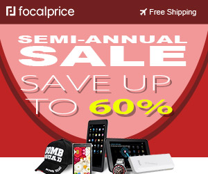 Up to 60% OFF Semi-Annual Sale,Expires:Aug.04,Free shipping@focalprice.com