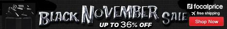 Up to 36% OFF Black November,Expries:Nov.17,Free shipping@focalprice.com