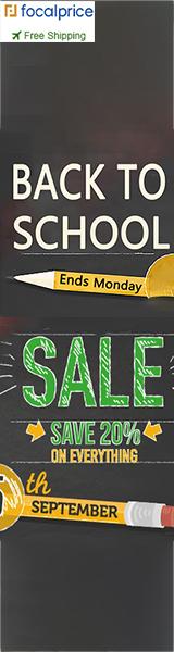 Save 48% Back to School,Expires:Sept.14,Free shipping@focalprice.com