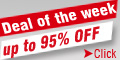 Deal of the week,up to 95% off