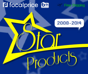 6th Anniversary: 2008-2014 Star Products,Expires:Jun.23,Free shipping@focalprice.com