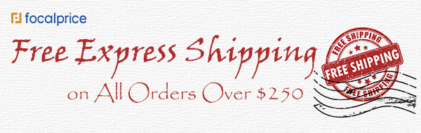 Free Express Shipping on all Orders over $250