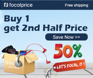 50% OFF Buy 1 get 2nd Half Price,Expires:Dec.09,Free shipping@focalprice.com