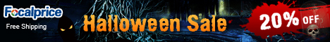Up to 20% off! Take a look at our spooky items in this Halloween! End on 1st, Nov.,2012.