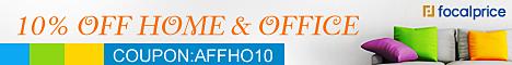 10% OFF Home & Garden,Coupon Code:AFFHO10,Expires:Nov.09,Free shipping@focalprice.com