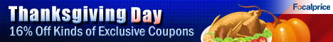Thanksgiving Day!Exclusive Coupons with Thousands discount products! Find all you need here!