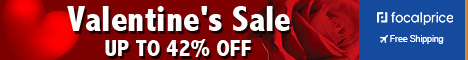 Up to 42% OFF Valentine's sale,Expire:Feb.14,Free shipping@focalpirce.com
