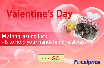 Valentine's Day, My long lasting luck is to hold your hands in mine always