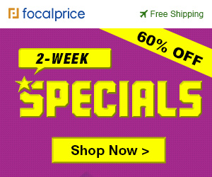 Up to 60% OFF 2-week specials,expire Feb.10,Free shipping@focalpirce.com