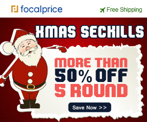 More than 50% OFF Xmas Seckill Sale,Expires:Dec.17,Free shipping@focalprice.com