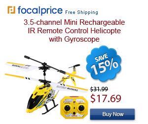 45% OFF Mini Rechargeable IR Remote Control Helicopter
