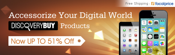 Up to 51% off on Accessorize Your Digital World, Valid in July 18~Aug 08,2013.