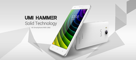 UMI HAMMER 4G Smartphone W 64bit,freeshipping@focalprice.com