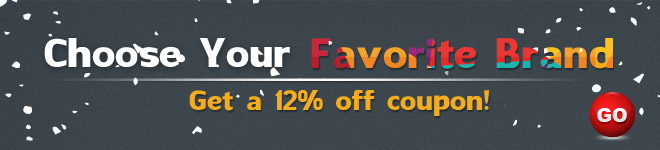 Get 12% OFF Coupon for Favorite Brand