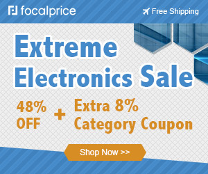48% OFF Extreme Electronics Sale+8% Caterory Coupons,Expires:Oct.15,Free shipping@focalprice.com