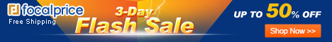 Up to 50% OFF Flash Sale,Expires:May.28,Free shipping@focalprice.com