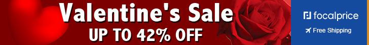 Up to 42% OFF Valentine's sale,Expire:Feb.14