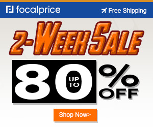 Up to 80% OFF 2-week-sale,EXP:30,freeshipping@focalprice.com