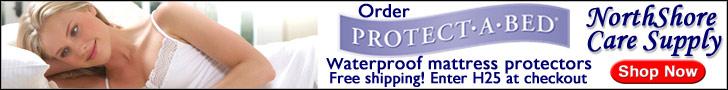 Waterproof Mattress Protectors at NorthShore Care Supply