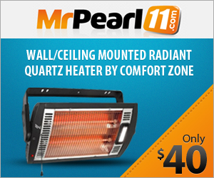 Wall/Ceiling Radiant Heater