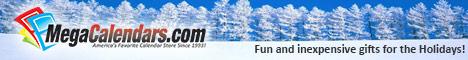 2013 Calendars - Holiday Gifts - MegaCalendars.com