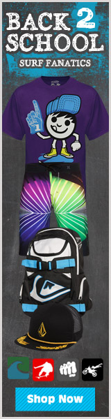 Save an additional 20% on sale priced merchandise at Surf Fanatics
