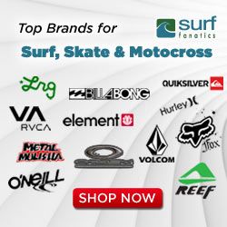 Shop the top brands in surf, skate & motocross at Surf Fanatics!