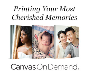 Save BIG on Canvas Prints from Canvas on Demand + $50 Giveaway