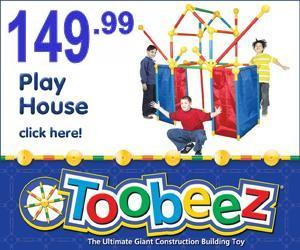 Toobeez Build A Playhouse!