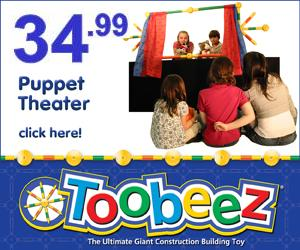 cheep Puppet Theater!