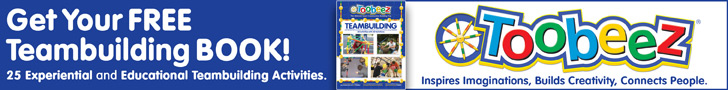 Free Teambuilding Book with Toobeez Purchase