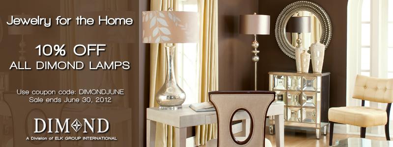 Save 10% on Dimond Lamps now through June 30th at LightingCatalog.com. Use Code: DIMONDJUNE. 800x300 Banner