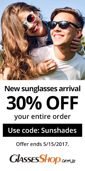 30% off New Sunglasses
