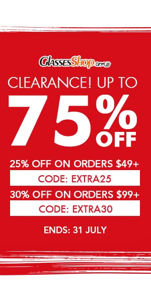 Clearance Sale! Up to 75% off frames Use Code Extra30 At GlassesShop.com - Ends 7/31/17