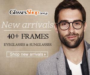 2018 New Arrivals – Over 40 New Frames At GlassesShop.com