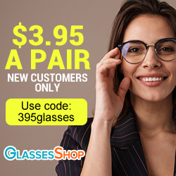 New Customer $3.95 Glasses