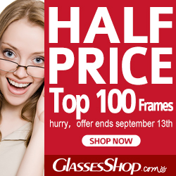 Enjoy 50% Off Sale & All Kinds of Bestseller Eyeglasses at Glasses Shope