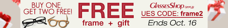 Buy one get two free: Free frame +free gift. Use code frame2 at checkout. Offer ends Oct. 16, 2014. Shop now!